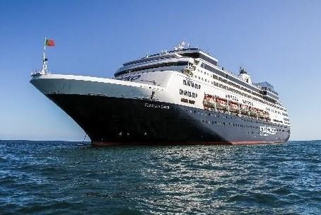 Årets første krydstogtskib anløber Rønne