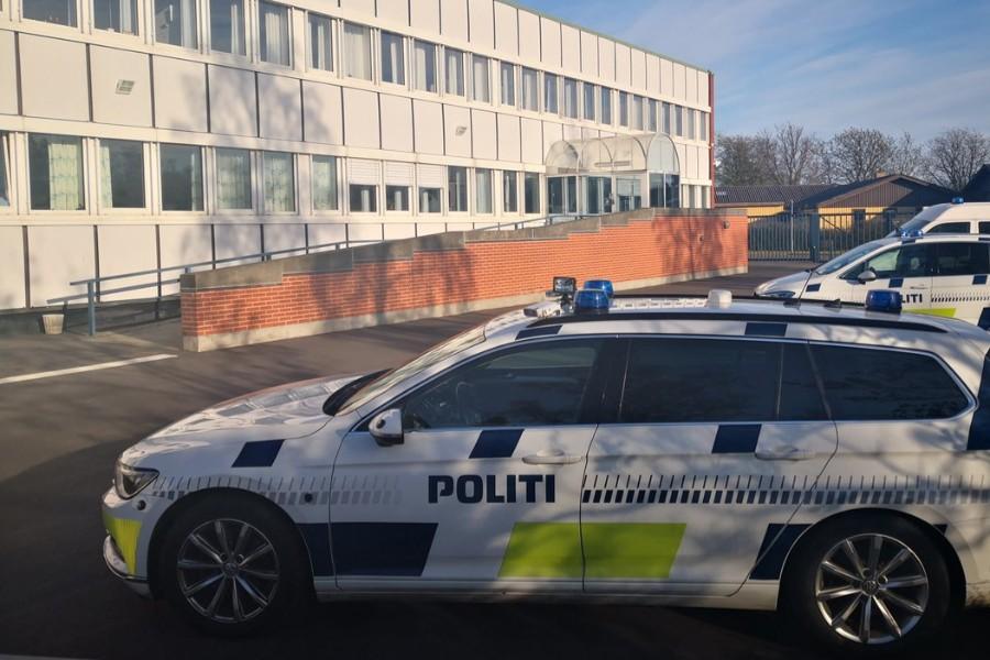 Civil betjent anmeldt for grov vold mod bilist