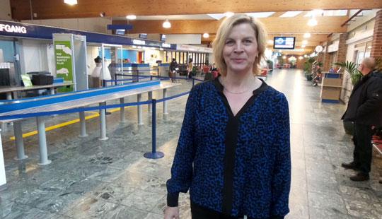 Lufthavnschef skifter til nyt job