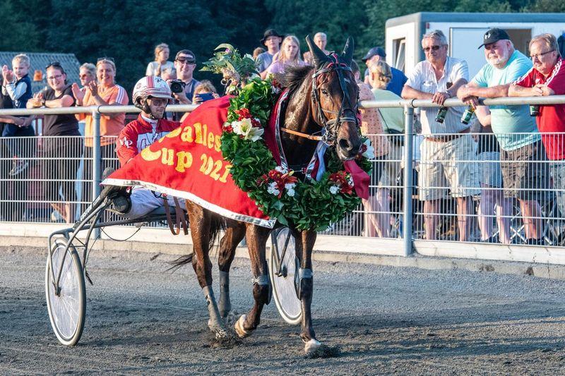 Otte heste løber om Bornholms Derby-titel