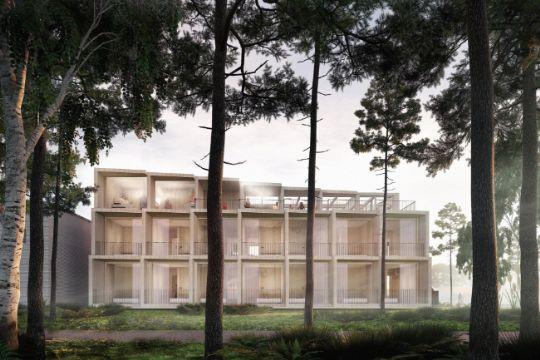 Hotelbyggeri klar til september