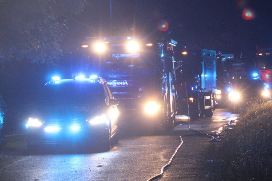 49-årig mand sigtet for brandstiftelse i Rø