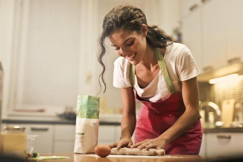 Køkkenet for den selvudlærte kok og madelskeren