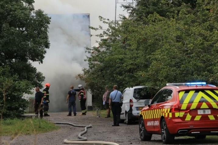 Politiet undersøger brandårsag