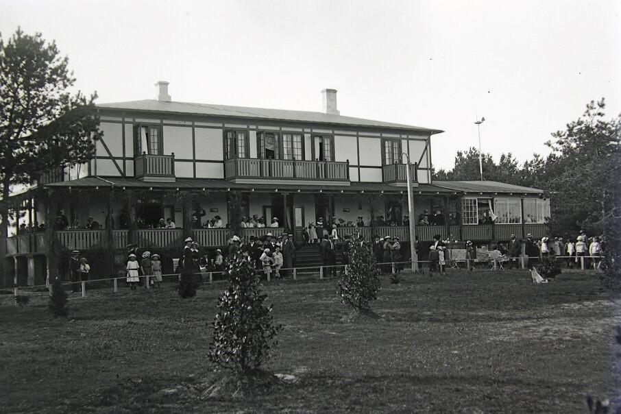 Badehotel skabte turismen på Sydbornholm