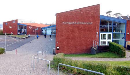 Hærværk på skolen i Allinge