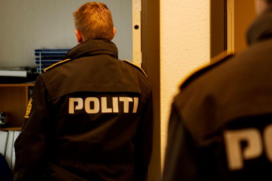 Politiet lukkede svendegilde
