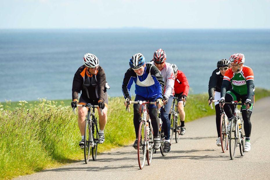 Over 1.200 cykler Bornholm Rundt