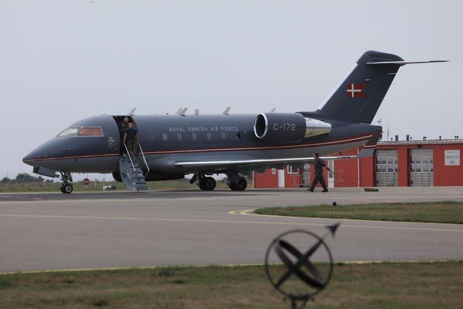 Fly fra Forsvaret måtte sikkerhedslande