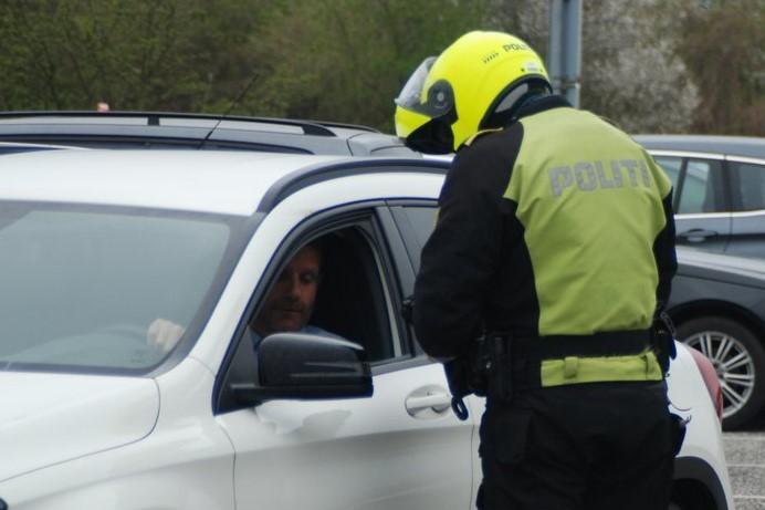 Barn i bil var ikke sikret