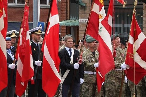 Bornholm markerer flagdag for udsendte