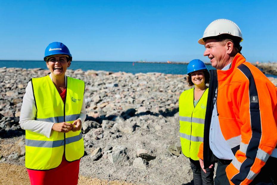 Olesen Dyhr: Rønne Havn var fremsynet