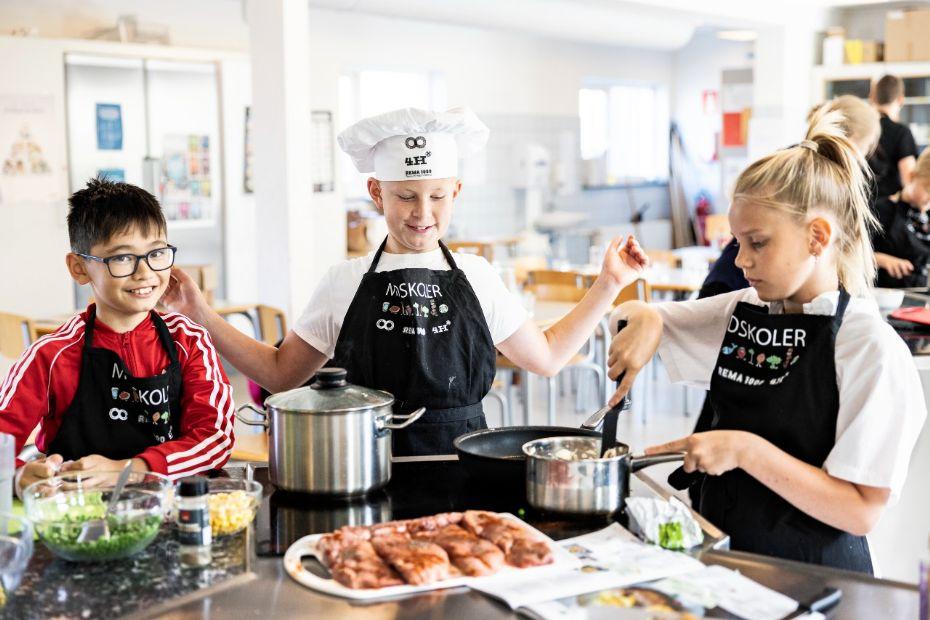 Børn tilbydes Madskole i efterårsferien