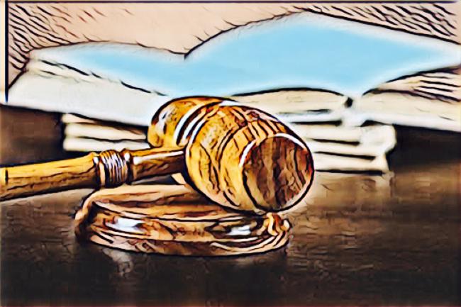 Færre civile sager endte for retten