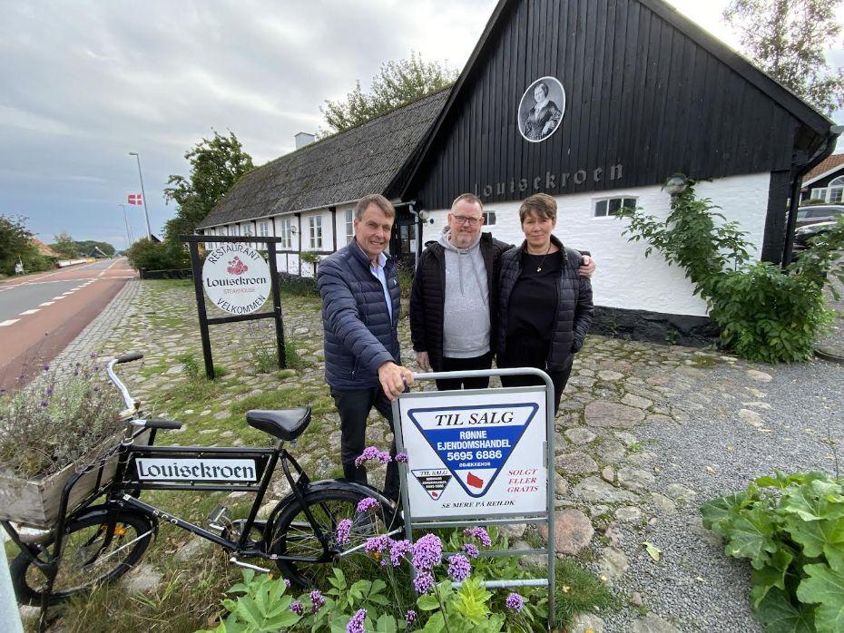 Louisekroen i Bølshavn til salg