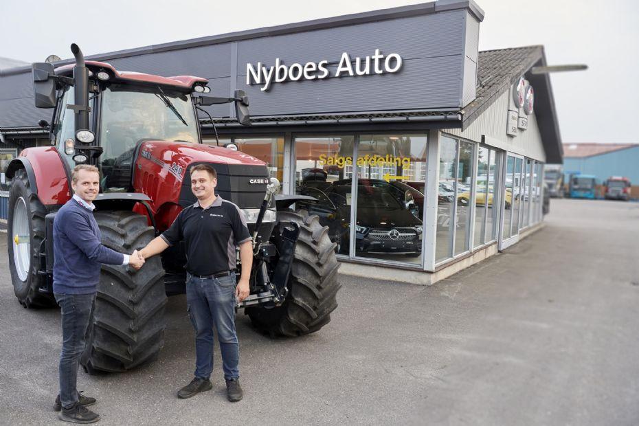 Nyboes Auto udvider med ny service