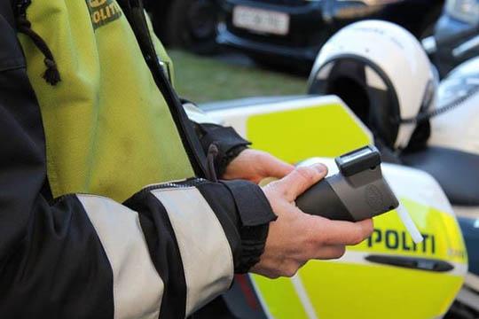 Narkobilist anholdt i Rønne