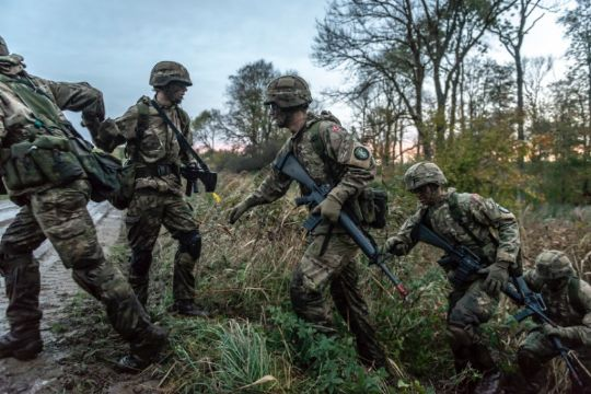 Større militær øvelse i denne uge